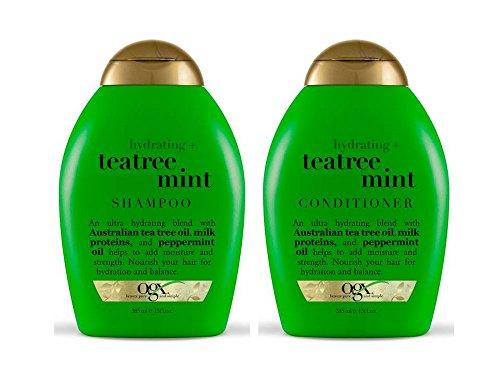 Organix: Tea Tree Mint Hydrating Shampoo + Conditioner