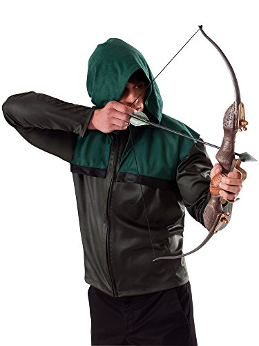 Rubie's Costume Arrow's Bow and Arrow Set Brown, One Size -