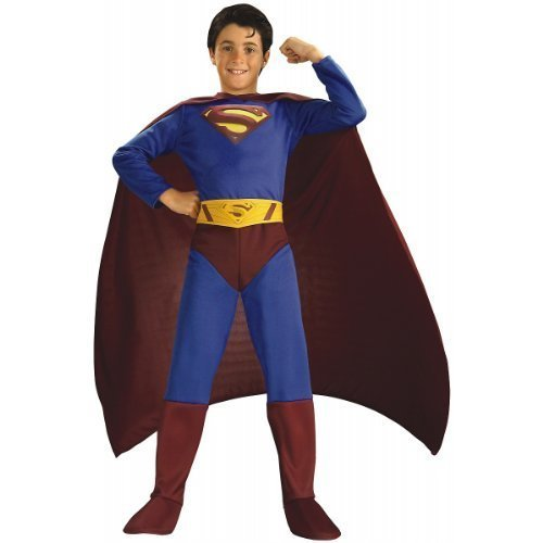 Superman Returns Child Halloween Costume Size 8-10 by Halloween Resource Center, -