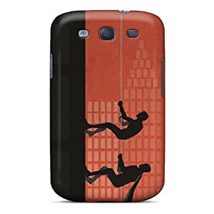 First-class Case Cover For Galaxy S3 Dual Protection Cover Batman And Robin Climbing