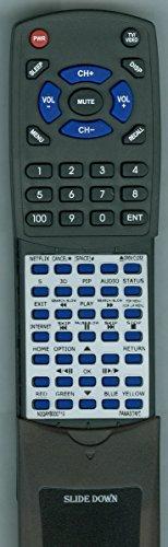 Panasonic N2QAYB000719 Remote Control
