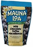 Mauna Loa Milk Chocolate with Toffee and Macadamia Nuts, 11-Ounce Bag (Pack of 6)