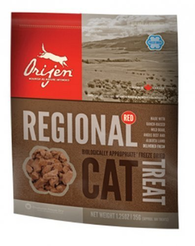 Orijen Orijen Cat Treats Freeze Dried Regional Red, 1.25 Oz