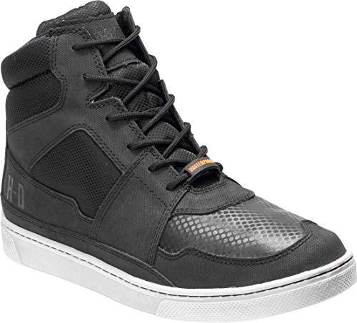 HARLEY-DAVIDSON Men's Eagleson Sneaker, Black, 10.5 M US
