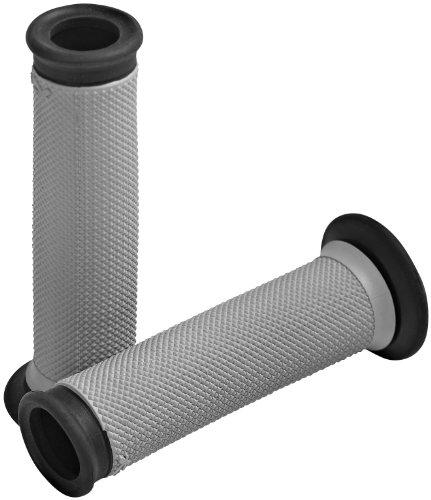 - Renthal G174 Black/Gray 29 mm Full Diamond Soft/Firm Compound Sportbike Grip