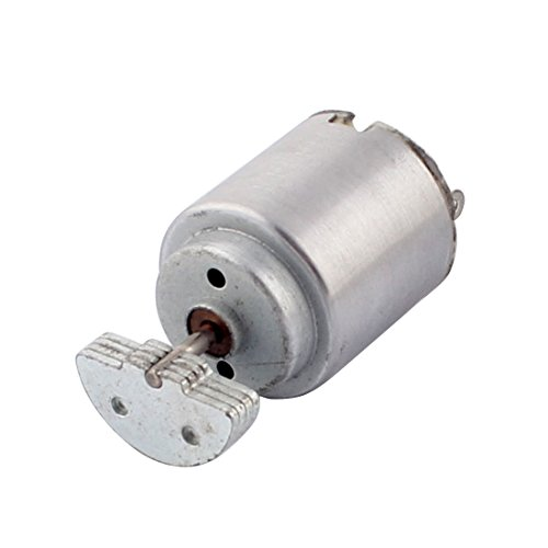 uxcell DC 1.5-6V 17000RPM Rotary Speed Micro Mini Vibrating Vibration Motor for Massager