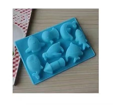 RICISUNG Fabrication artisanale de savon moules de glace treillis gâteau bonbons faisant moules moules à gâteaux à la main bricolage chocolat moule