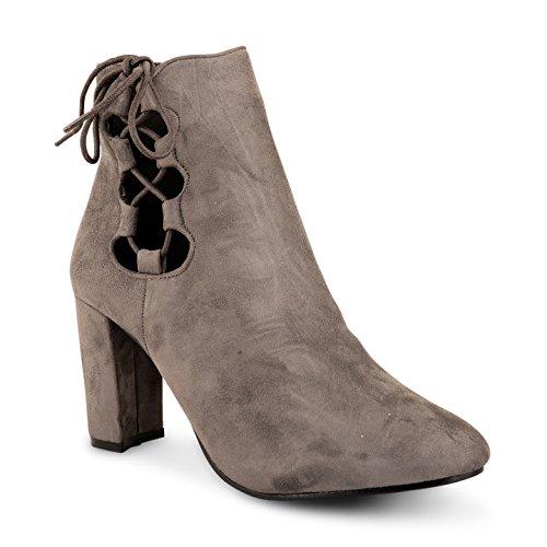 Footwear Sensation - Botas para mujer Gris - gris