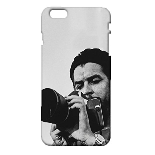 [Che Guevara Back Case Iphone 6 Plus/6s Plus 5.5 Inch Phone Case Black And White Pattern Hard 3D Phone Case for Iphone 6 Plus/6s Plus 5.5] (Halloween Cut Out Patterns For Pumpkins)