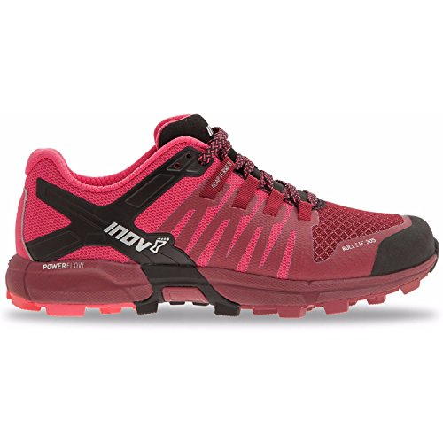 Inov-8 2017 Women's Roclite 305 Trail Running Shoe (M5.0/W6.5, Dark Red/Pink/Black)