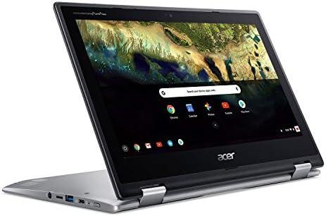 Acer Chromebook Spin 11 CP311-1H-C5PN Convertible Laptop, Celeron N3350, 11.6″ HD Touch, 4GB DDR4, 32GB eMMC, Google Chrome 41lNexPBDDL
