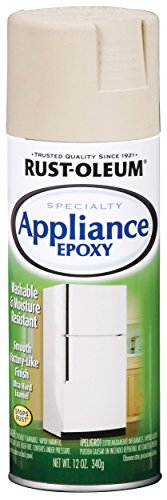 Top appliance epoxy almond
