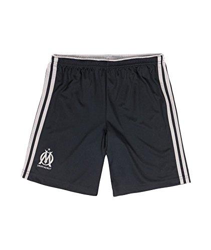 Shorts für Kinder, marine, Olympique de Marseille, Blau, 9/10 Jahre