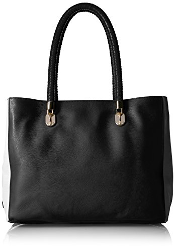 Cole Haan Purse - Cole Haan Benson Tote, Black/Ivory