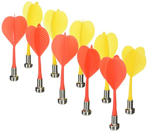 10pcs Replacement Durable Safe Plastic Wing Magnetic Darts Bullseye