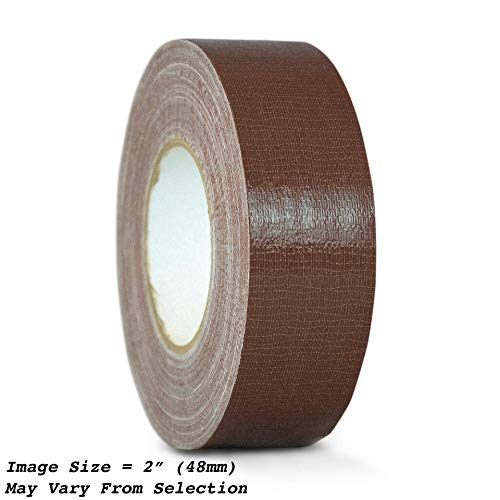 WOD CDT-36 Advanced Strength Industrial Grade Dark Brown Duct Tape, Waterproof, UV Resistant For Crafts & Home Improvement (Available in Multiple Sizes & Colors): 1 in. x 60 yds. (Pack of 1)