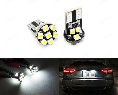 LEDIN T10 168 194 2825 Xenon White 13 SMD 360 degree LED Bulb Rear Side Marker ()
