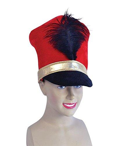 (Bristol Novelty BH530 Soldier Hat Red, One Size)
