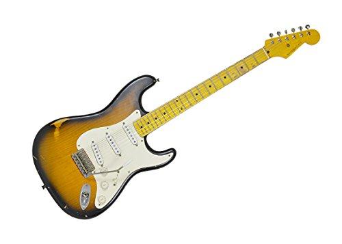 Nash Guitars S-57 w/ Hardshell Case Two-Tone Sunburst Maple Fingerboard NG-3345