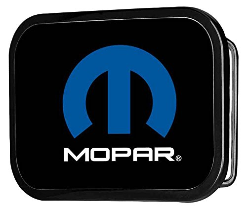 Classic Logo Belt Buckle - Mopar Automotive Part Company Classic Blue M Logo Rockstar Belt Buckle