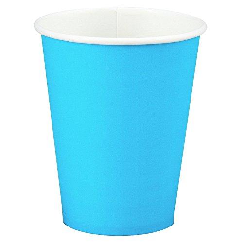 Creative Converting 561039B Bermuda Blue Hot/Cold Cup 9 Oz, Solid (10pks Case)
