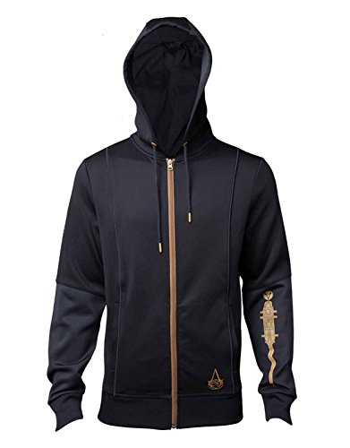 Assassins Creed Origins Hoodie Bayeks Tattoo Official Womens Slim Fit Black