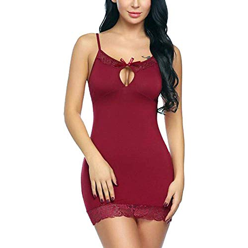 KITTYBEES Women's Spandex Above knee Baby Doll