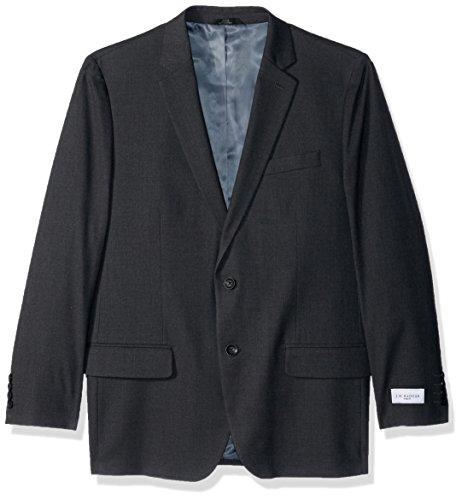 Haggar Men's J.m Premium Stria Tailored Fit Suit Separate Coat, Dk. Grey Heather, 48R by Haggar