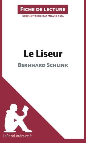 Le Liseur [Pdf/ePub] eBook
