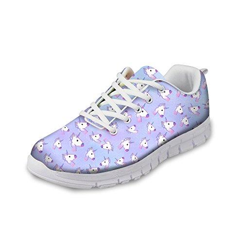 Abbracci Idea Gatto Occhi Modello Carino Donna Casual Sneakers Comfort Scarpe Da Corsa Cartoon 5
