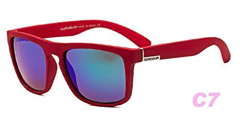 De De tea Sol Hembra zhenghao Color Gafas Nueva Personalidad Película Moda Sol Azul Sol Xue Gafas De Light De De Gafas Ronda Polarizante color aIBWY7q