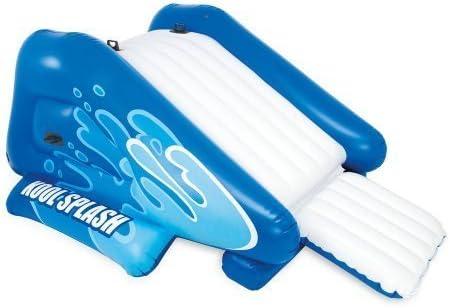 Amazon.com: Hinchable Tobogán de agua centro de juegos con ...