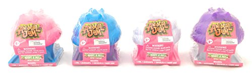 Set of 4: Animal Jam Adopt A Pet Series 3 Cupcake Blind Toys (one each: Pink, Blue, Purple, White)