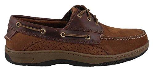 Sperry Top-Sider Billfish 3-Eye Boat Shoe – Brown/Buc Brown – Mens – 12