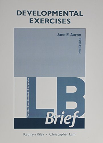 Developmental Exercises for LB Brief