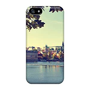 Awesome Design Prague Bridge Czech Republic Hard For SamSung Galaxy S3 Phone Case Cover