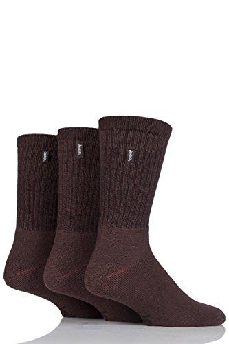 Jeep Terrain Leisure Socks - 6-11 Mens - Brown 2