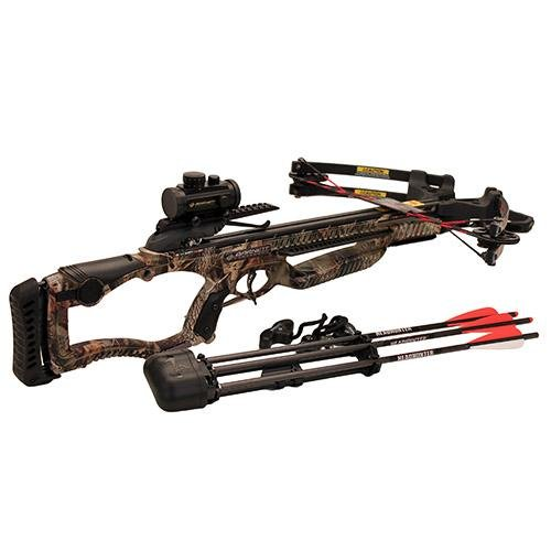 Barnett Outdoors Raptor FX Crossbow Package with Dot Sight, Large, Camo