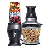 Ninja Nutri Ninja 2-in-1 food processor with powerful 700 Watt pod & 40 oz. Processor Bowl - QB3000 (Certified Refurbished)