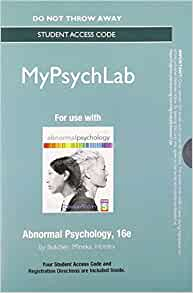 abnormal psychology 16th edition pdf download
