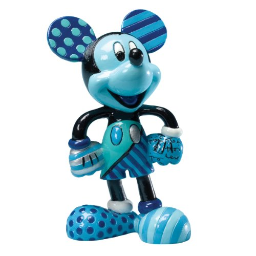 Enesco Disney by Britto from Blue Period Mickey Figurine 4.25 .