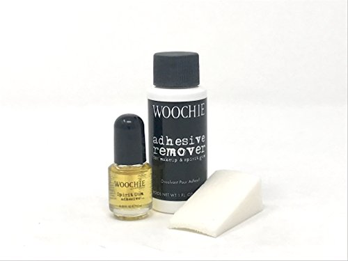 CINEMA SECRETS Spirit Gum and Remover Combo with Sponge -