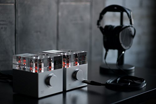 Woo Audio WA7d Fireflies Duo with WA7tp (tube power supply) upgrade in Silver - Firefly Amplifier