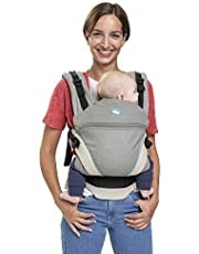 manduca XT/grey-ocean / Bärsele med justerbar steg, för nyfödda och barn (3,5–20 kg) grå/turkos