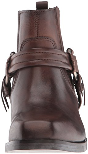 Harless Diesel Boots Women's Boot Ankle Brown Squar Dark 77RFwgxq