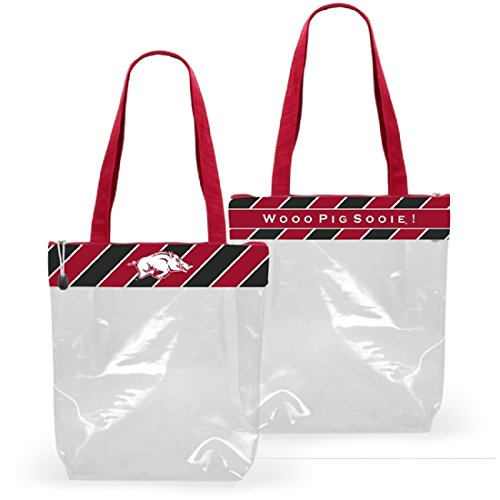 Arkansas Razorbacks Clear Gameday Stadium Tote Bag (Razorback Stadium)
