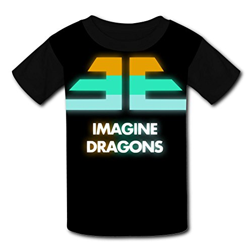 Dragon Kids Light T-shirt - D4SD4H5RFE Pretty Imagine Who We Are_Dragons Polyester Short Sleeve T-Shirt For Children