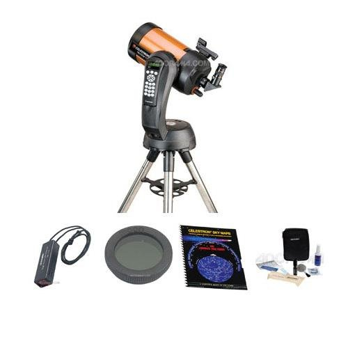 Celestron NexStar 6 SE Schmidt-Cassegrain Telescope, Special Edition - with Accessory Kit (Night Vision Flash Light, Sky Maps, Moon Filter, Optical Cleaning Kit) by Celestron