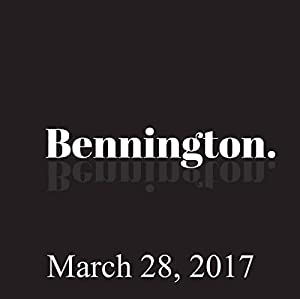 Bennington, Tricia Bates and Liz Miele, March 28, 2017 Radio/TV Program