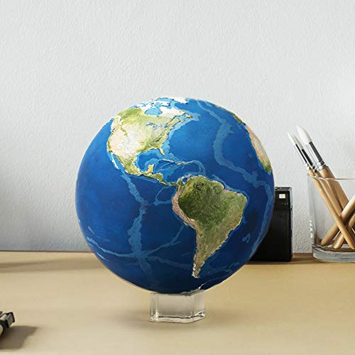 AstroReality Earth Interactive Globe, Award Winning Space Education Toys Teaching Aids for Earth Science, 120mm Diameter 3D-Printed and Handcrafted Model of Earth, Paired with Augmented Reality App. by AstroReality (Image #5)